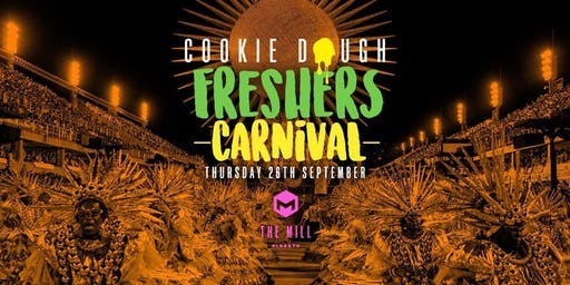 Cookie Dough Freshers Carnival (The Mill, Birmingham)