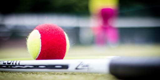Red Recreational Tennis Event