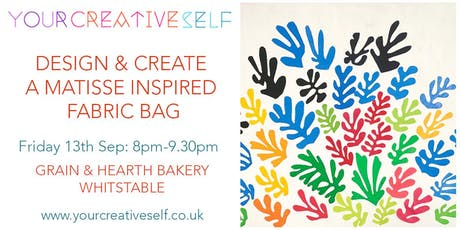 Creative Workshop: Design And Create A Matisse Inspired Fabric Bag tickets