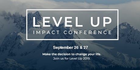 Level Up Impact Conference tickets