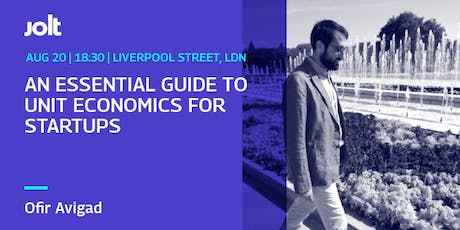 Essential Guide to Unit  Economics for Startups tickets