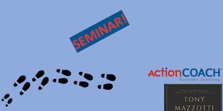 6 Steps to Better Business Seminar  tickets