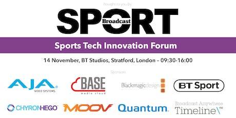 Sports Tech Innovation Forum 2019 tickets