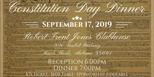 Constitution Day Dinner