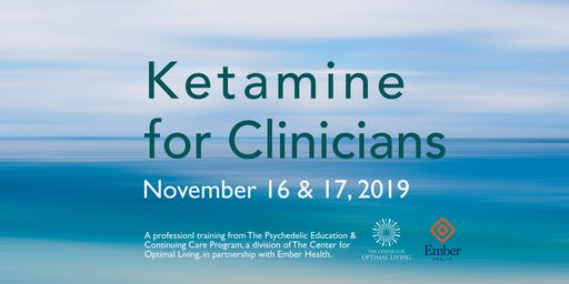 Ketamine for Clinicians