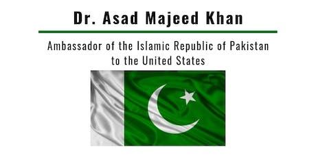 Foreign Affairs Luncheon feat. Ambassador of Pakistan tickets
