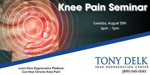 Tony Delk Center Knee Pain Seminar - 8/20
