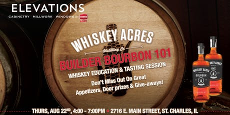 Elevations by Hines: Builder Bourbon 101 tickets