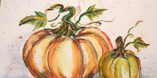 Pumpkin Patch Paint Party