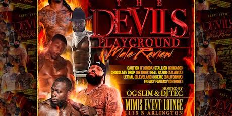 The Devils Playground Male revue tickets