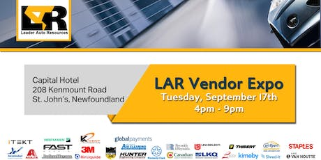 LAR Vendor Expo - Newfoundland tickets