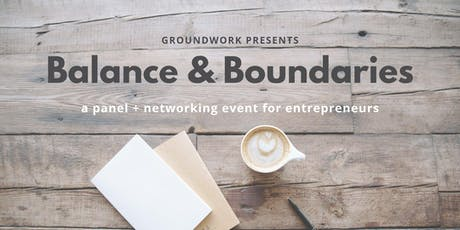 Balance & Boundaries tickets