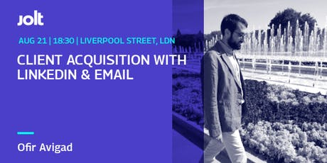 Workshop: Client Acquisition with LinkedIn and Email tickets