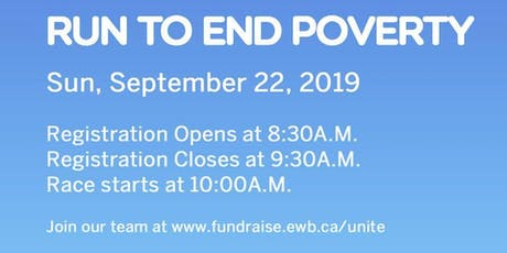 Run to End Poverty - EWB Western tickets