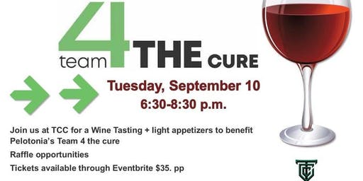 Pelotonia Team 4 THE Cure Wine Experience