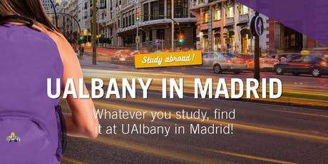 UAlbany in Madrid Info Session tickets