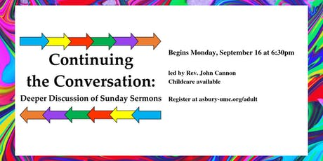 Continuing the Conversation tickets
