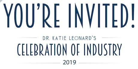Dr. Katie Leonard's Celebration of Industry tickets