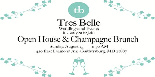 Champagne Brunch at Tres Belle's Open House