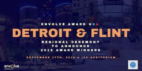 Envolve Award USA Detroit & Flint Regional Announcement tickets