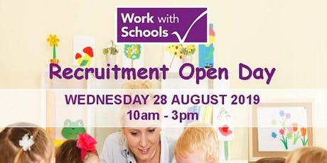 WorkwithSchools - Education Staff Recruitment Day tickets