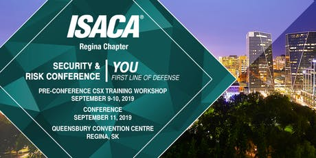 2019 Security & Risk Conference tickets