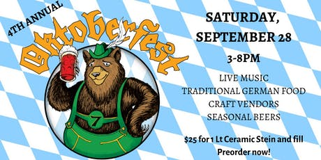4th Annual Oktoberfest tickets