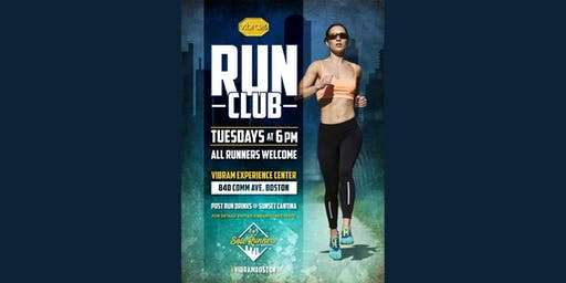 Vibram Run Club! Every Tuesday @ 6PM!