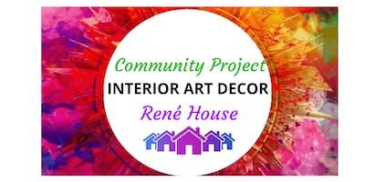 Interior Art Decor for Rene House Nottingham