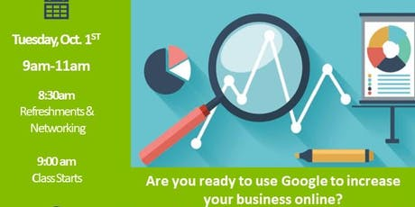 Online Marketing for Business - SEO tickets