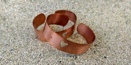 Copper Bracelet Workshop tickets