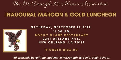 Inaugural Maroon and Gold Luncheon