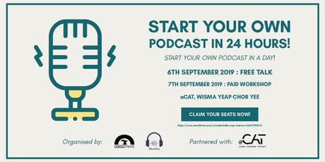Start Your Podcast Right Bootcamp tickets