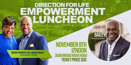 Empowerment Luncheon with Simon T. Bailey tickets
