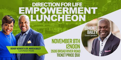 Empowerment Luncheon with Simon T. Bailey
