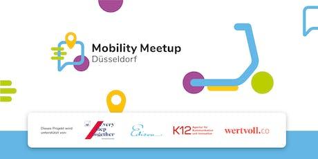 Mobility Meetup Düsseldorf #015 – Fokus e-Scooter Tickets