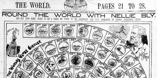 'Around the World with Nellie Bly' Gaming Day