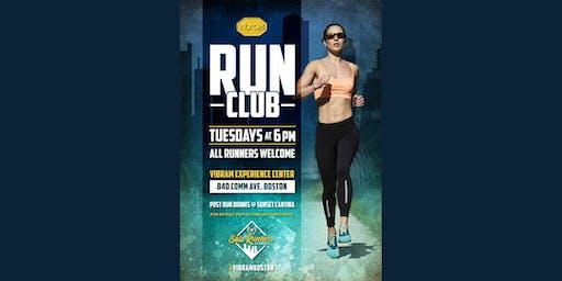 Vibram Run Club! Every Tuesday at 6PM!