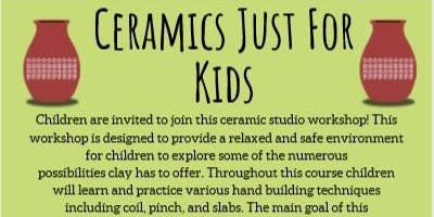 TOB DPCC Ceramics Just for Kids Fall 2019