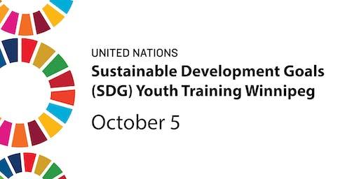 Sustainable Development Goals (SDG) Youth Training - Winnipeg