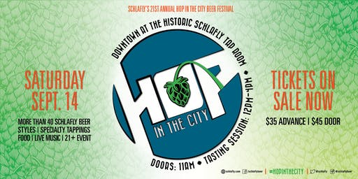 Schlafly HOP in the City - 21st Birthday