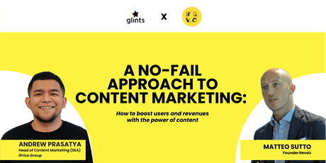 A No Bullsh*t Approach to Content Marketing tickets