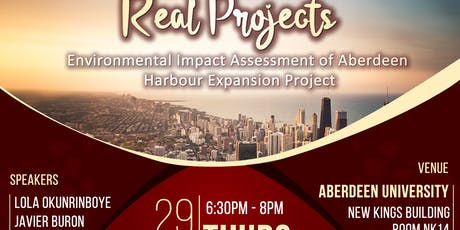 The  Aberdeen Harbour Expansion Project tickets