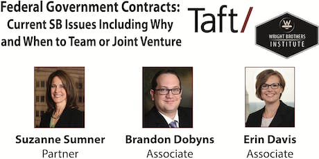 Federal Government Contracts:  Current Small Business Issues Including Why and When to Team or Joint Venture  tickets