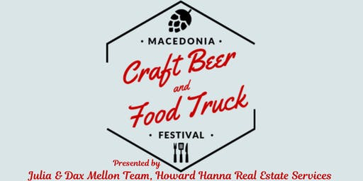 Macedonia Craft Beer & Food  Truck Festival