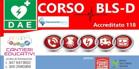 CORSO BLSD Adulto Pediatrico - Vedelago - Treviso biglietti