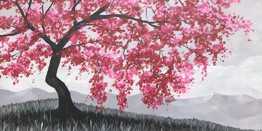 Cherry Blossom Brush Party - Yate