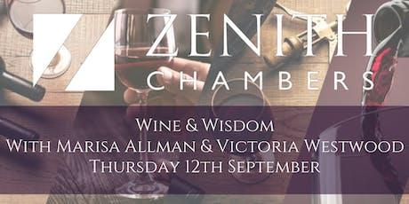 Marisa Allman & Victoria Westwood - Wine & Wisdom tickets