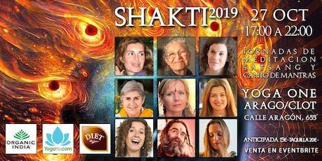SHAKTI 2019 - Jornadas de Meditación, Satsang y Canto de Mantras entradas