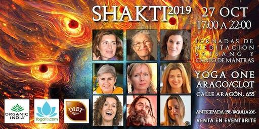 SHAKTI 2019 - Jornadas de Meditación, Satsang y Canto de Mantras